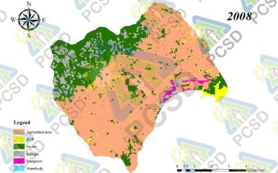 Land Cover Map Maruyog Catchment 2008, 2016 and 2020